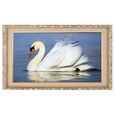 """Kraftika Diament mozaika """"swan"""", 18 kolorów"""