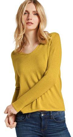 Tom Tailor Sweter damski 1012976 XS żółty