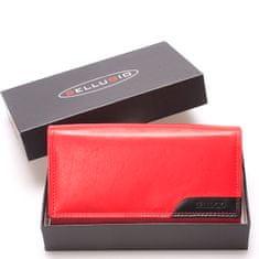 Bellugio Dámska kožená peňaženka červená Bellugio Eleonora