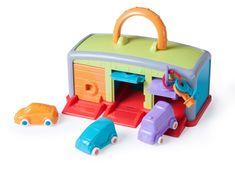 Miniland Baby bőrönd - garázsom, 18m-3r