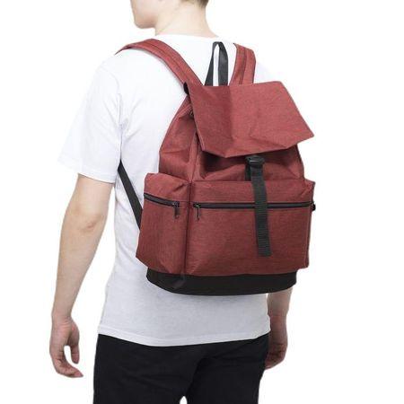 Kraftika Ifjúsági hátizsák, csipke osztály, 3 külső zseb, bordó szín