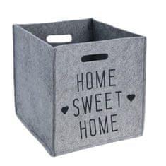 Eva Sweet home storage organizer, gray, 4914129
