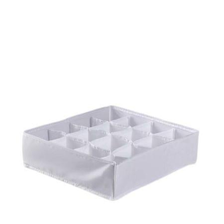 """Kraftika Organizator do prania """"mono"""" 16 komórki, 30 x 30 x 8,5 cm"""