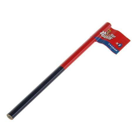 Kraftika Farby ołówek, niebiesko-czerwony kolor