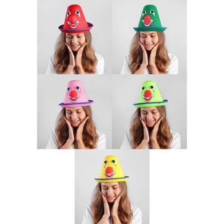 """Kraftika Karneváli kalap """"bohóc"""" 54 cm, színek keverednek"""