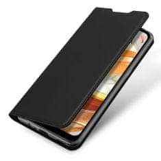 Dux Ducis Skin Pro Knížková kožené pouzdro na LG K61, černé