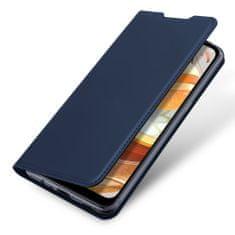 Dux Ducis Skin Pro Knížková kožené pouzdro na LG K61, modré