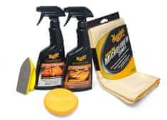 Meguiar's Meguiar's Heavy Duty Leather Care Kit - kompletní sada na čištění a ochranu kožených povrchů