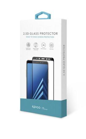 EPICO 2,5D zaštitno staklo za GLASS Xiaomi Redmi Note 9 Pro / Xiaomi Mi 10T Lite, crno 48512151300002