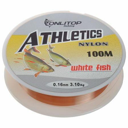 Kraftika Lesk fehér hal, d = 0,16 mm, 100 m