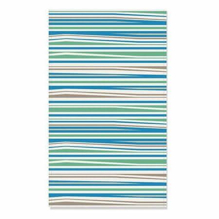 Kraftika Törölköző csúzli kék csík, 35x60 cm, kék, pamut 100%