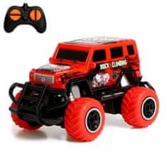 """Kraftika Jeep rádiem řízené """"bigfoot,"""" pracuje z baterií"""