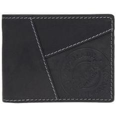Lagen Pánska kožená peňaženka 51148 BLK