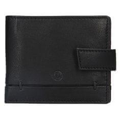 Lagen Pánska kožená peňaženka BLC/4139 BLK