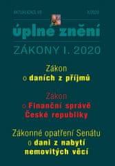 autorů kolektiv: Aktualizace I/8 2020 - ZDP, Zákon o Finanční správě ČR, Zrušení daně z nabytí nemovitých věcí bez náhrady