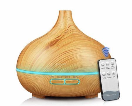 BALIROSE Ultrasonični Aroma Difuzor Bali 300ml, svetlo rjava