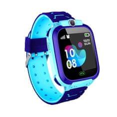 NEOGO SmartWatch QS12 LBS, smart hodinky pre deti, modré