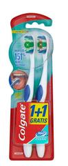 Colgate 360 četkica za zube, medium, 1 + 1