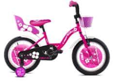 Capriolo BMX 16HT VIOLA dječji bicikl, roza-bijela
