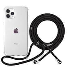 EPICO Nake String Case za iPhone 11 Pro Max, bel/transparenten/črn 42510101300007