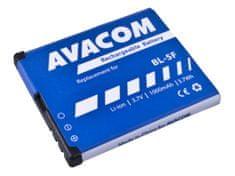 Avacom batéria do mobilu Nokia N95, E65, Li-Ion 3,6V 1000mAh (náhrada BL-5F) GSNO-BL5F-S1000A