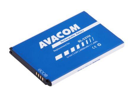 Avacom akkumulátor a következő telefonokhoz: LG D855 G3 Li-Ion 3,8V 3000mAh (BL-53YH helyettesítője) GSLG-D855-3000