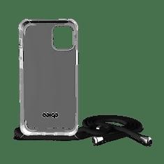 EPICO Nake String Case ovitek za iPhone 12/12 Pro, bel, prozoren/črn
