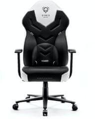 Diablo Chairs X-Gamer 2.0, černá/bílá (5902560337495)