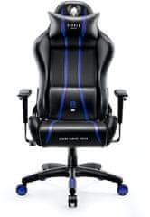 Diablo Chairs X-One 2.0, černá/modrá (5902560337075)