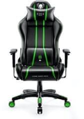Diablo Chairs X-One 2.0, černá/zelená (5902560337082)