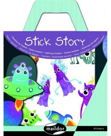Maildor Stick Story set naljepnica, Svemirska čudovišta