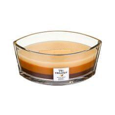 Woodwick Vonná sviečka loď Trilogy Cafe Sweets 453 g