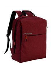 Victor BR3022 D ruksak, bordo crveni