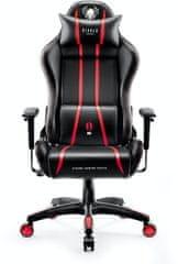 Diablo Chairs X-One 2.0, XL, černá/červená (5902560336429)