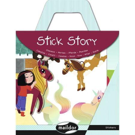 Maildor Stick Story set naljepnica, Konji