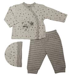 Just Too Cute komplet niemowlęcy - gwiazdki/paski