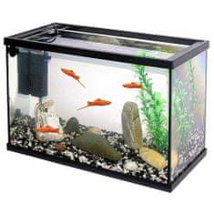 Pacific 40 akvárium 20l 40x20x25cm krycí sklo+filtr+štěrk+umělá rostlina
