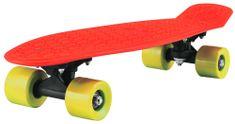 Bimbobike Pennyboard červeno-žlutý