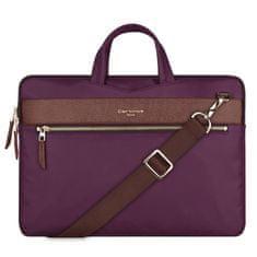 """Cartinoe London Style taška na notebook 13.3"""", fialová"""