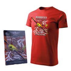 ANTONIO Tričko s akrobatickým speciálem EXTRA 300 RED