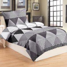 Jahu posteljina Triangle grey, 70x90/140x200 cm