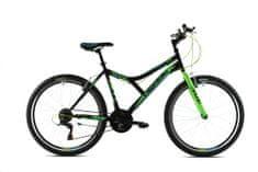 Capriolo MTB Diavolo 600 FS / 18HT 19 brdski bicikl, crno-zeleni (920320- 19)