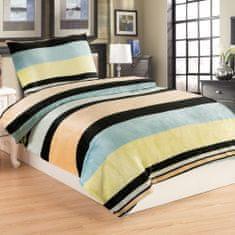 Jahu Strio posteljina, mikro pliš, 70 x 90/140 x 200