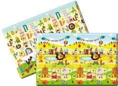 Lalalu SZŐNYEG premium S (140 x 140 x 1.2) - Happy Birthday