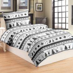 Jahu Christmas posteljina, mikro pliš, 70 x 90/140 x 200