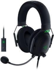 Razer BlackShark V2 gaming slušalke, USB