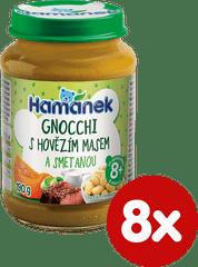 Hamánek Gnocchi s hovězím masem a smetanou 8x 190g