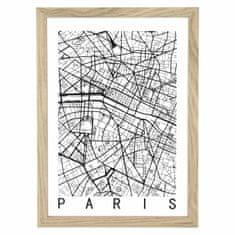 shumee Slika pariškega zemljevida