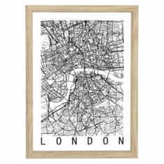 shumee Obrázok mapy Londýna