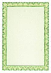 Apli Papír s motivem Diplom, zelená, A4, 115g, 10 ks